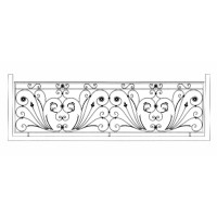 Ограда ритуальная эскизы5