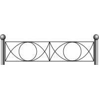 Ограда ритуальная эскизы7