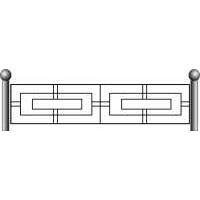 Ограда ритуальная эскизы11