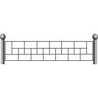 Ограда ритуальная эскизы16