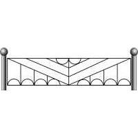 Ограда ритуальная эскизы18