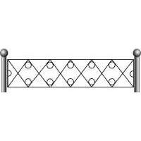 Ограда ритуальная эскизы19