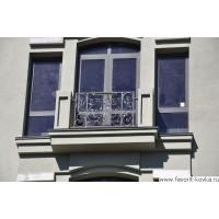 Кованые балконы в Казани
