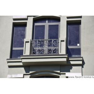 Балконные кованые ограждения1