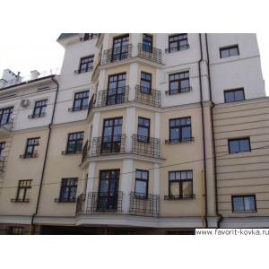 Балконные кованые ограждения2