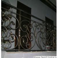 Балконные кованые ограждения3