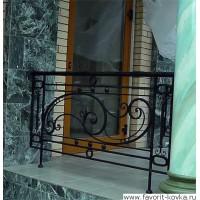 Балконные кованые ограждения6