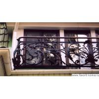 Балконные кованые ограждения7