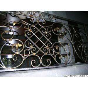 Балконные кованые ограждения8
