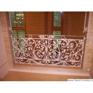 Балконные кованые ограждения9