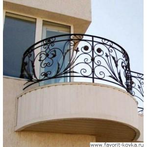 Балконные кованые ограждения10
