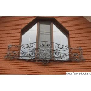 Балконные кованые ограждения12