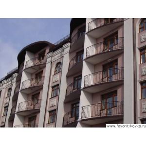 Балконные кованые ограждения13
