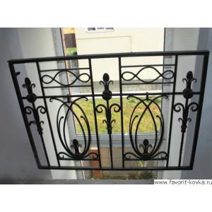 Балконные кованые ограждения14
