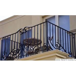 Балконные кованые ограждения16