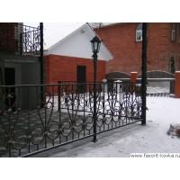 Балконные кованые ограждения17