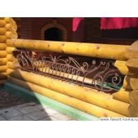 Балконные кованые ограждения18