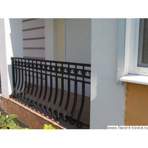 Балконные кованые ограждения19