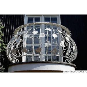 Балконные кованые ограждения20