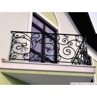 Балконные кованые ограждения21