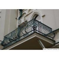 Балконные кованые ограждения22
