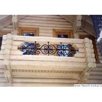 Балконные кованые ограждения25