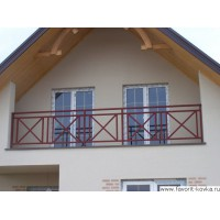 Балконные сварные ограждения2