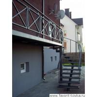 Балконные сварные ограждения3
