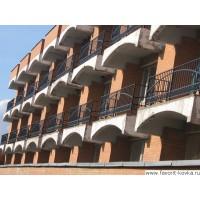 Балконные сварные ограждения6