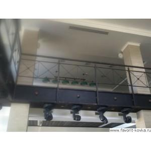 Балконные сварные ограждения9