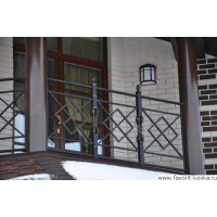 Балконные сварные ограждения10