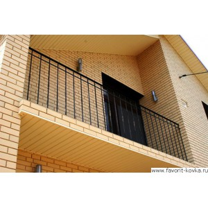 Балконные сварные ограждения11