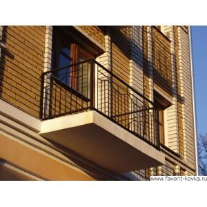 Балконные сварные ограждения12
