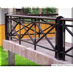 Балконные сварные ограждения13