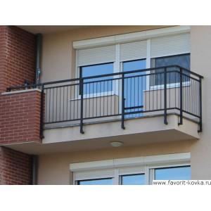 Балконные сварные ограждения14