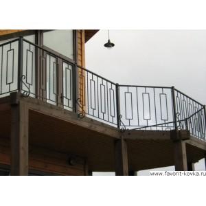 Балконные сварные ограждения20