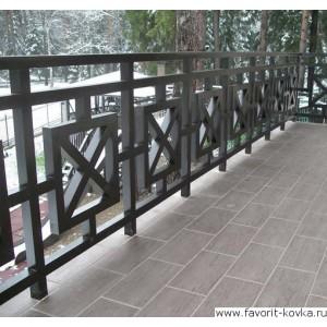 Балконные сварные ограждения22