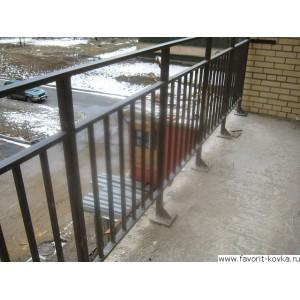 Балконные сварные ограждения23
