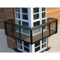 Балконные сварные ограждения24