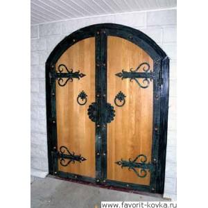 Деревянные ворота27