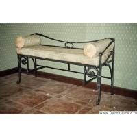 Кованые диваны и банкетки