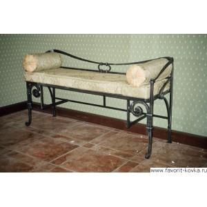 Кованые диваны и банкетки1