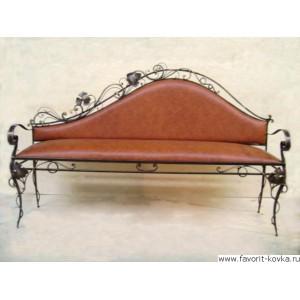 Кованые диваны и банкетки8