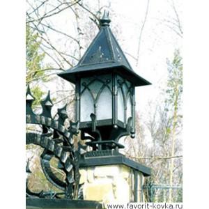 Кованые фонари11