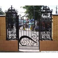 Кованые калитки и двери6