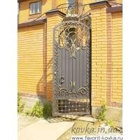 Кованые калитки и двери7