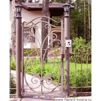 Кованые калитки и двери8