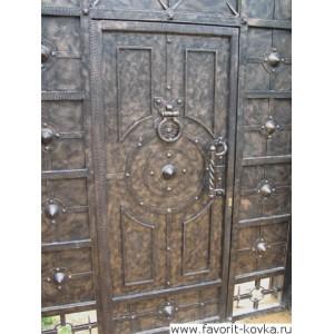 Кованые калитки и двери9