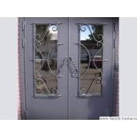 Кованые калитки и двери11