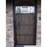 Кованые калитки и двери13